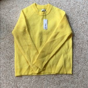 Envii mohair sweater- Yellow - NWT